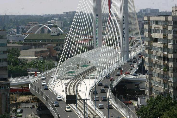 A Civil Engineering wonder in Bucharest, Romania!