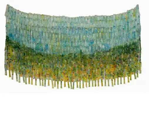 Across the lines - glass - lisa walsh 2009