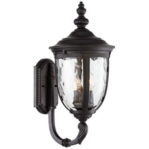 """Bellagio Collection 21"""" High Outdoor Wall Light - #90535 