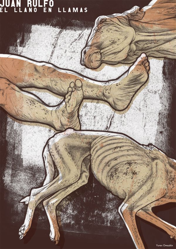 Crímen, muerte y miseria by Yurex Omazkin, via Behance