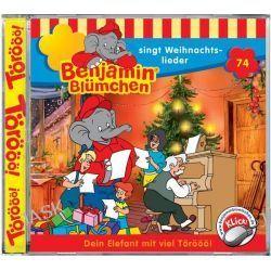 Hörbuch: Benjamin Blümchen 074 Singt Weihnachtslieder. Cd Von Elfie Donnelly, Audiobooki w języku niemieckim <JASK>