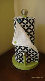 That Short Girl's Blog: Reusable Paper Towel Tutorial  These would be great for when I move out. Save me some money.