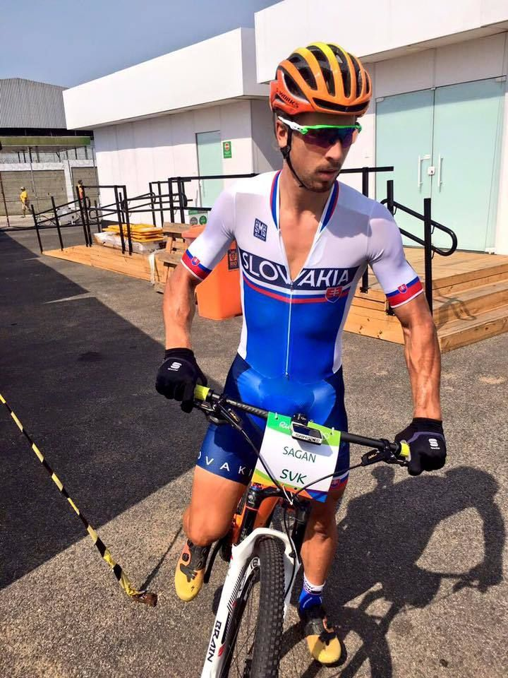 Two punctures ruin Sagan's Olympic MTB race. Should have he done it in the first place? RELATED: Going Tubeless on your MTB? What you need to consider - http://www.bikeroar.com/tips/going-tubeless-on-your-mtb-what-you-need-to-consider. #olympic #mountainbike #rio2016 #mtb #petersagan