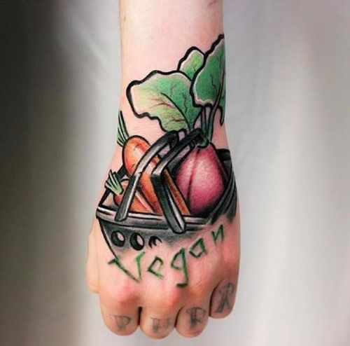 30 Best Tattoos For Vegans Images On Pinterest