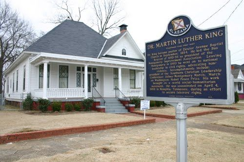Montgomery Alabama - Dr. Martin Luther King's home.