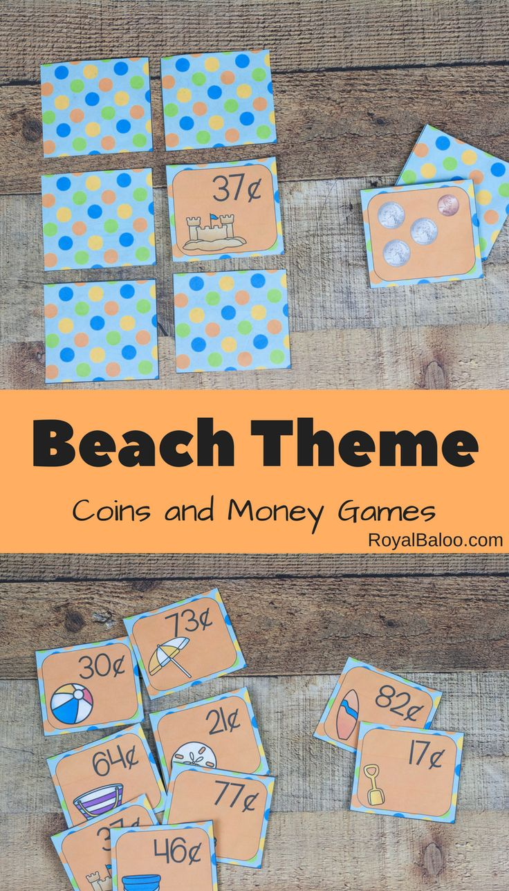 Worksheets Money Games For Preschool 75 best money games images on pinterest kindergarten preschool fun beach for u s coins