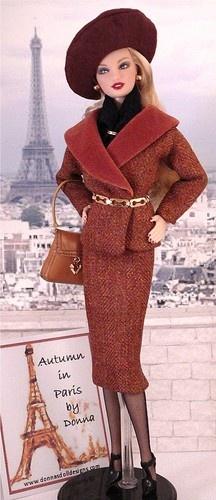 Barbie Around the World Autumn in Paris