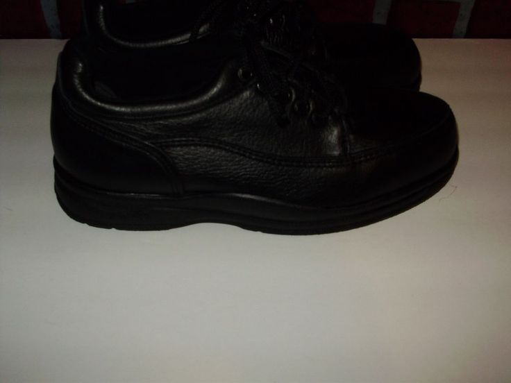 Red Wing Mens Leather Oxford Safety Shoe Black Steel Toe Size 7.5 D New NWOB #RedWingShoes #WorkSafety