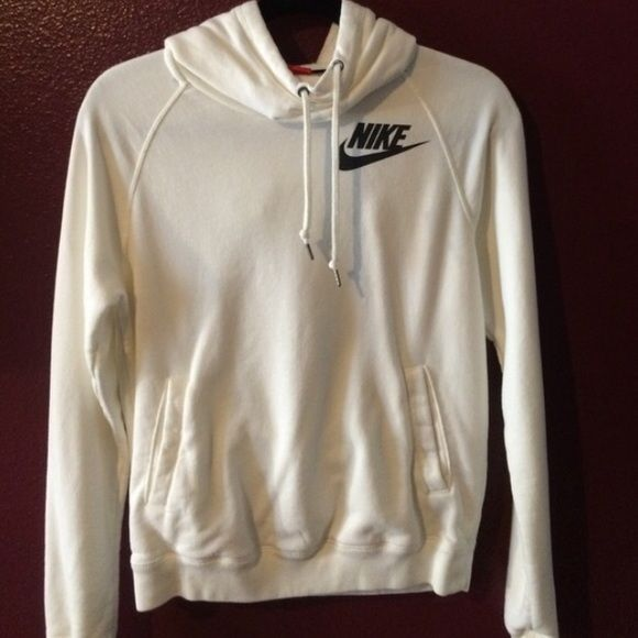 Nike pullover hoodie Nike funnel neck pullover worn once. No trades. This is basically brand new so I'm not looking to negotiate the price Nike Sweaters