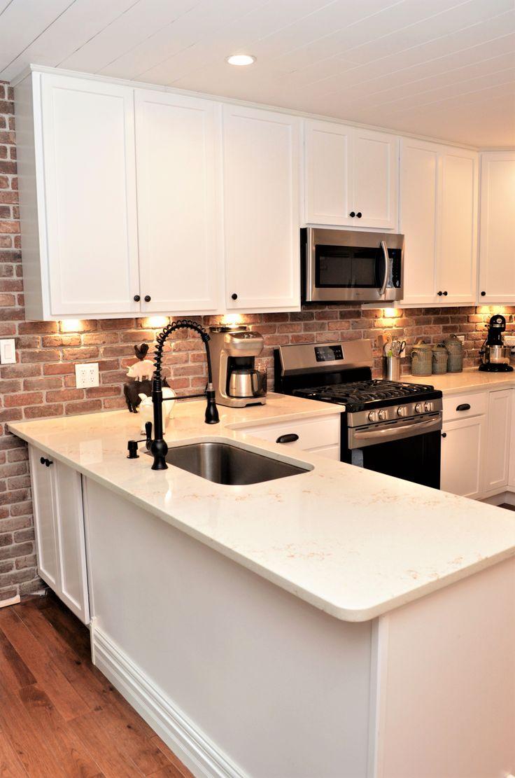 hanstone quartz eased edge style serenity color kitchen countertop edges white tile kitchen on kitchen island ideas white quartz id=42934