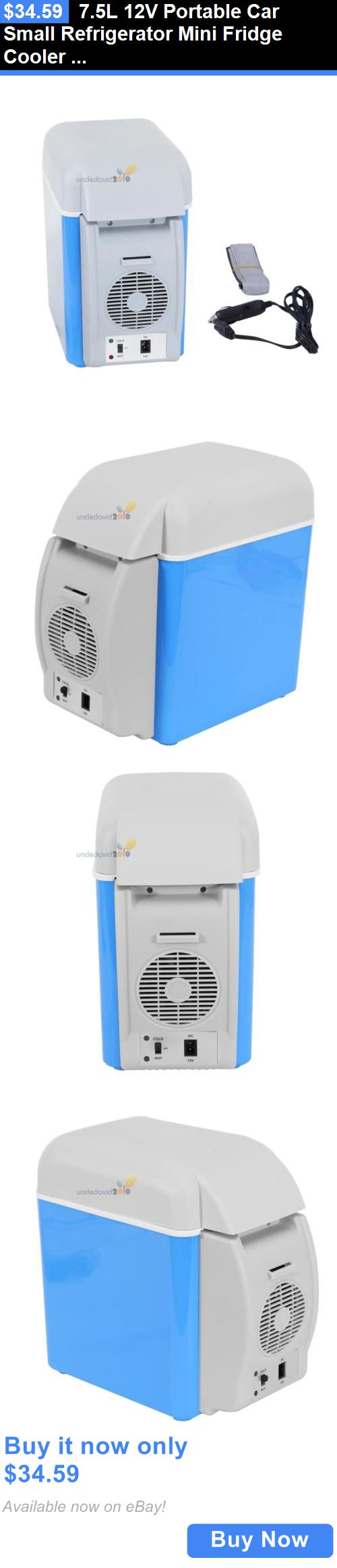 12-Volt Portable Appliances: 7.5L 12V Portable Car Small Refrigerator Mini Fridge Cooler Warmer Outdoors Usa BUY IT NOW ONLY: $34.59