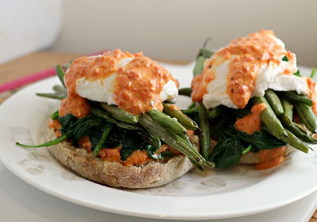 Vegetable Eggs Benedict {eat.live.be} Joanne Eats Well With Others