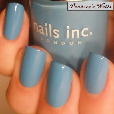 Nails Inc Old Compton Street i know it's under home deco.... but I love the colour - maybe find it for the walls?