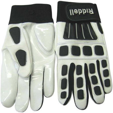 Riddell Armor Tac Warrior Football Glove Lineman Adult, Black
