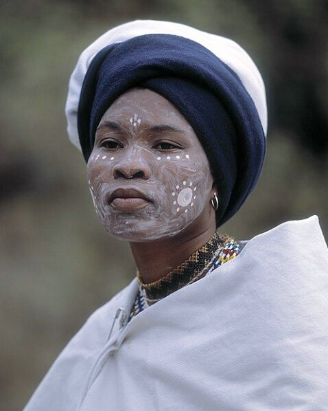 Africa |  Woman of the Xhosa tribe, South Africa.  Image credit Jim Zuckerman