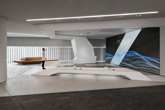 Deutsche Bank BrandSpace Interiors, Lighting and Minimal