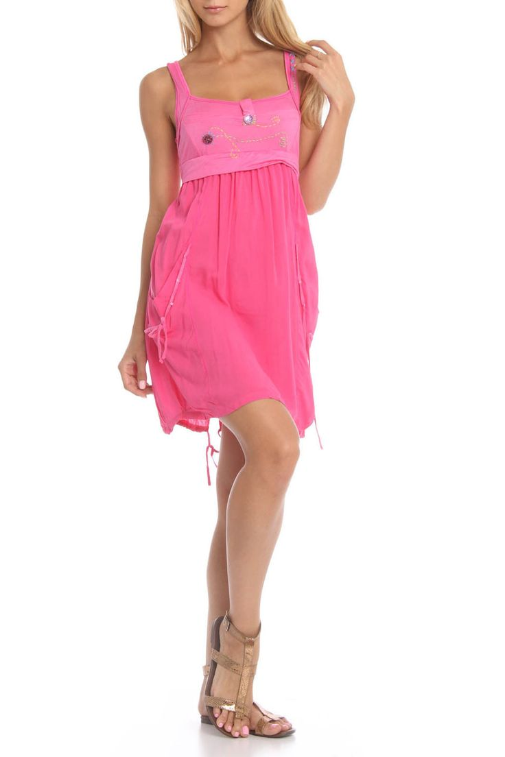 Grifflin Paris Vivica Fox Dress in Fuchsia - Beyond the Rack