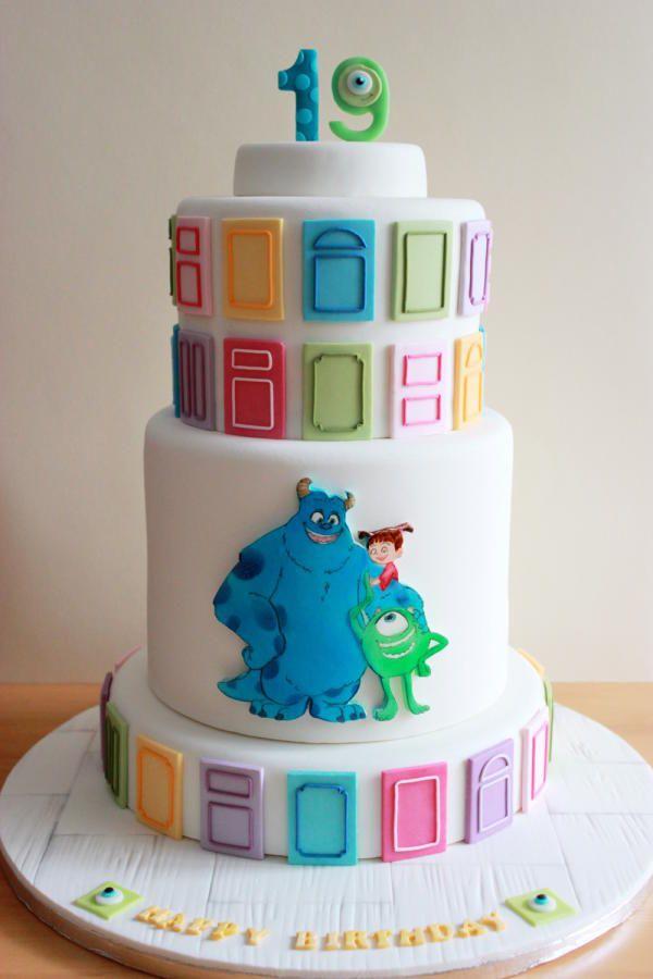 Monsters, Inc. Cake - Cake by Kiara's Cakes