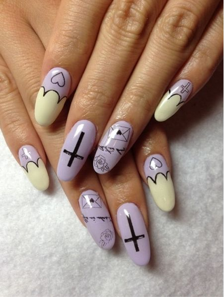 hipster nails pinterest - photo #39