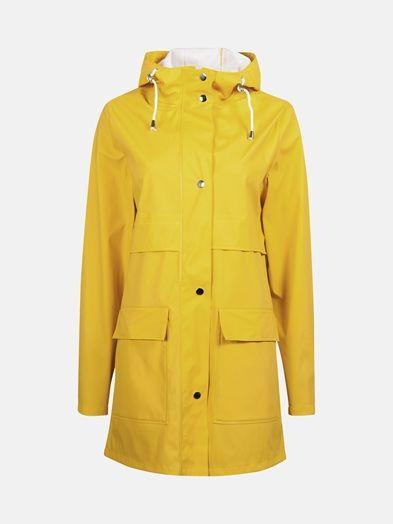 Keltainen - Storm raincoat