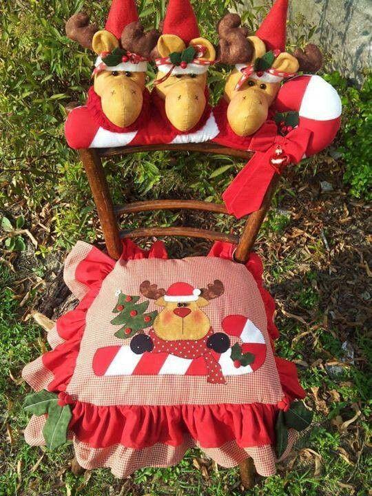 17 mejores im genes sobre cubre sillas en pinterest - Ver manualidades de navidad ...