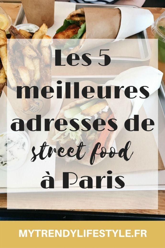 Mes 5 meilleures adresses de Street food à Paris