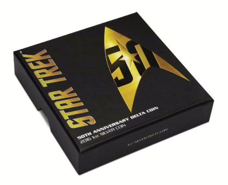 1oz Silver Delta Coin for Star Trek 50th Anniversary