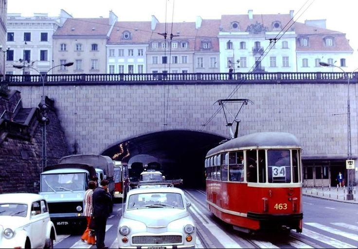 Trasa W-Z fot. 1974, źr. fotopolska.eu