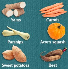 Starchy Vegetables List. A whole post coming on these, as they relate to #IBS and #IBD tomorrow via www.agutsygirl.com
