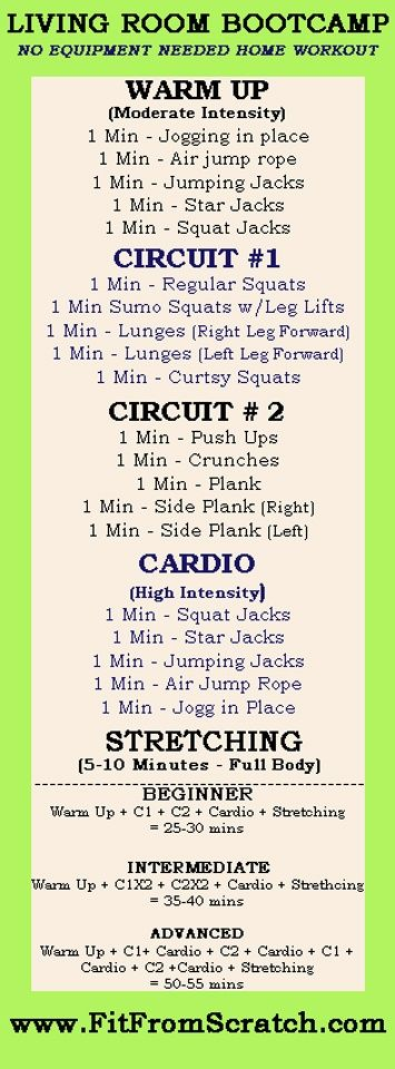 An at home workout to do when you can't get to the gym...or, as you are watching a favorite TV show! Stay active.