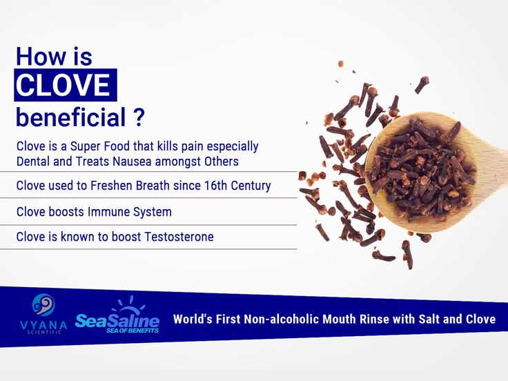 How is CLOVE beneficial ? Clove is a Super Food that kills pain especially Dental and Treats Nausea amongst Others... #clove #mouthrinse #seasaline #dentalcare