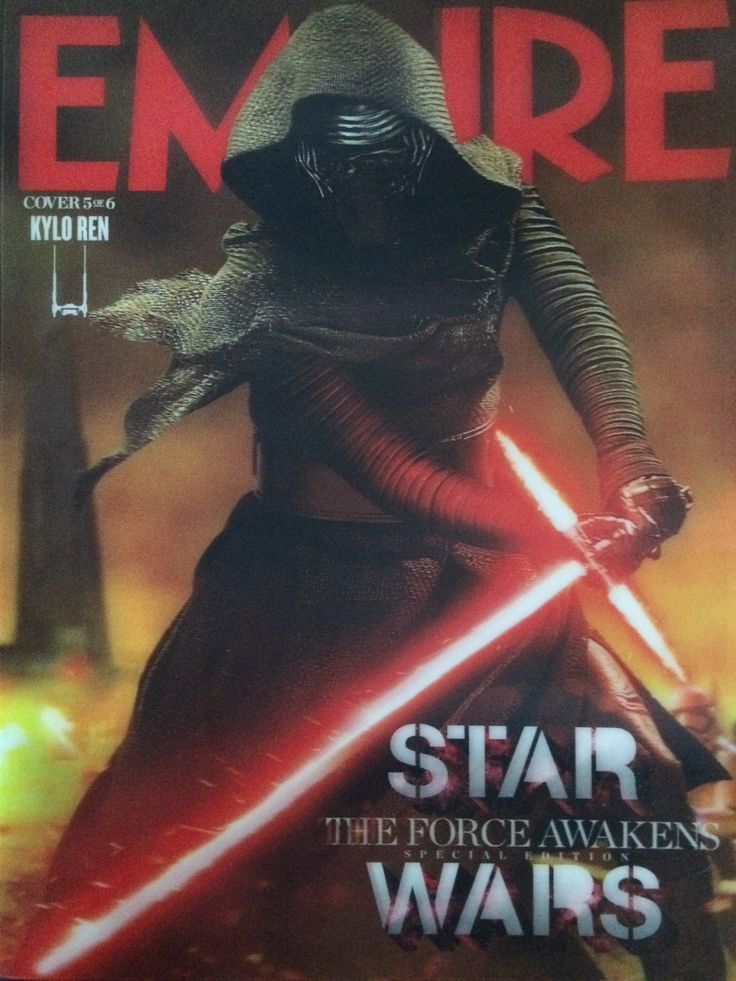 Empire Magazine - Kylo Ren cover