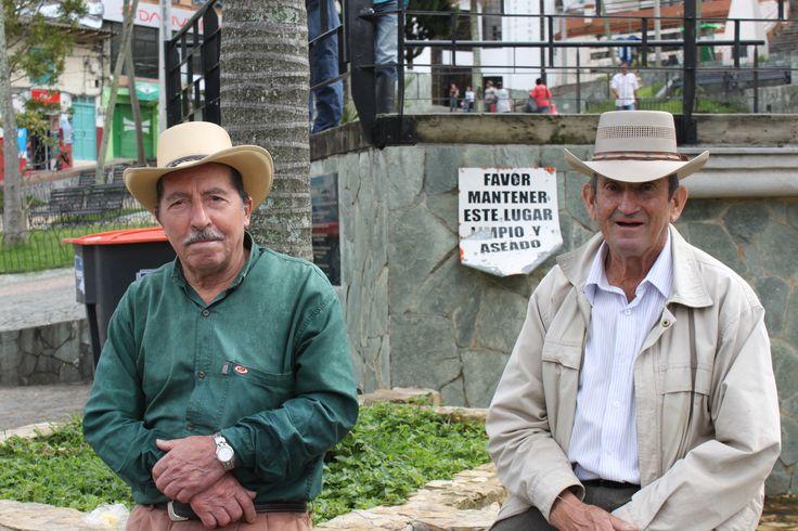 Campesinos del norte de Antioquia