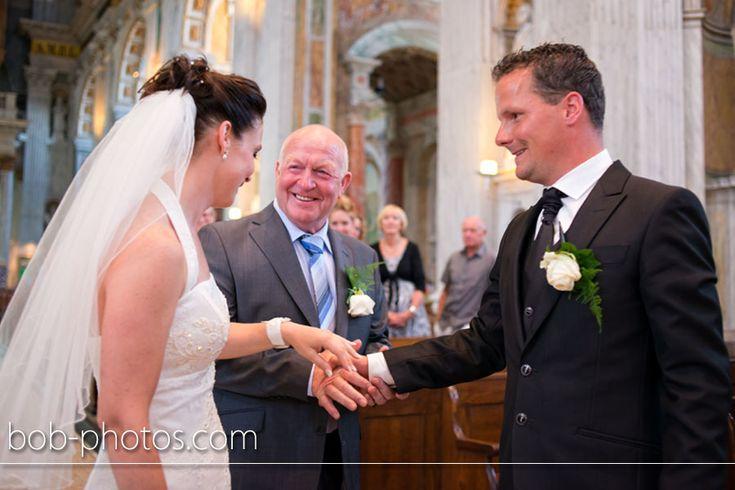 Kerkelijk huwelijk Basiliek Oudenbosch. Bob-photos.com