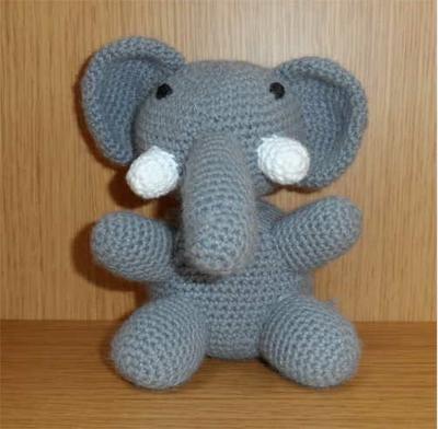 elefante crochet 1