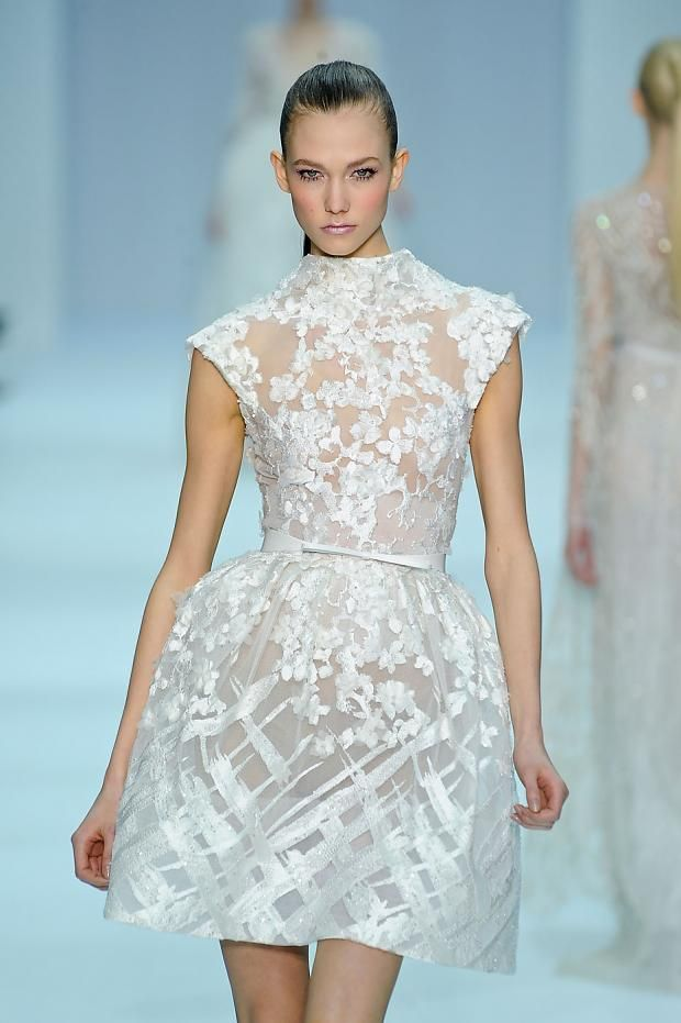 Yes Sweetheart I can almost see what you were thinking ------- Elie Saab