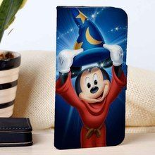 Mickey Mouse | Disney | Movie | custom wallet case for iphone 4/4s 5 5s 5c 6 6plus case and samsung galaxy s3 s4 s5 s6 case