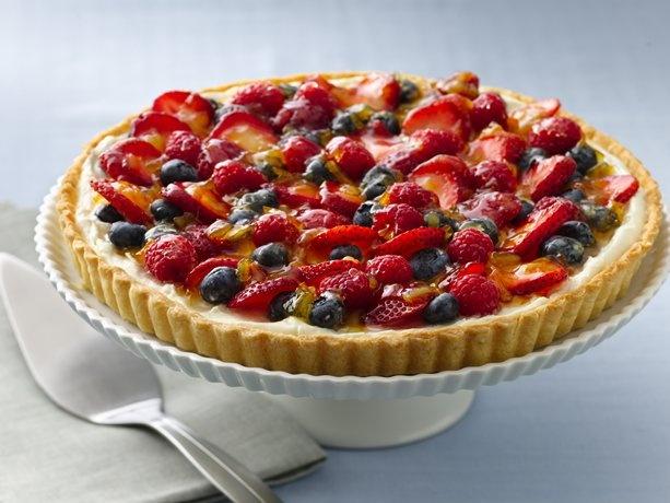 Glazed Berry Tart   Recipe from Betty Crocker
