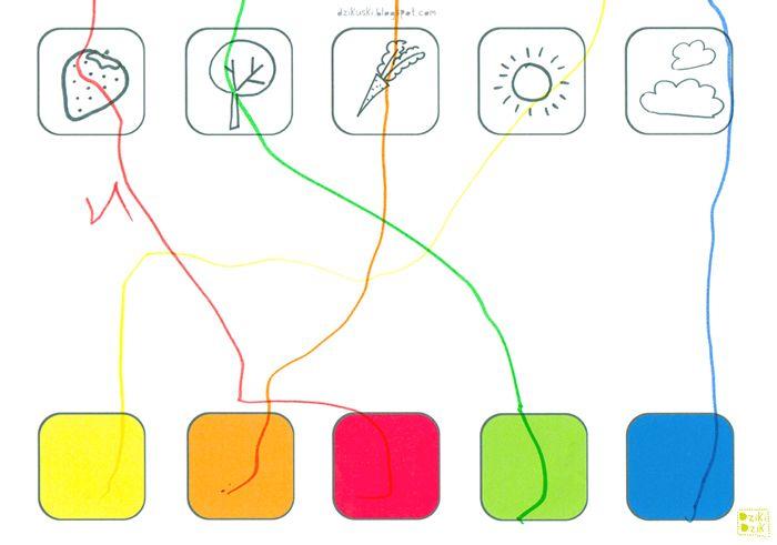 drukowana gra w łączenie | free kids worksheets