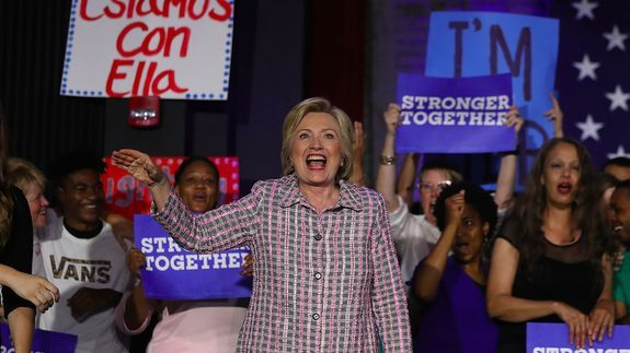 Women of all ages are empowered by Hillary Clinton's nomination