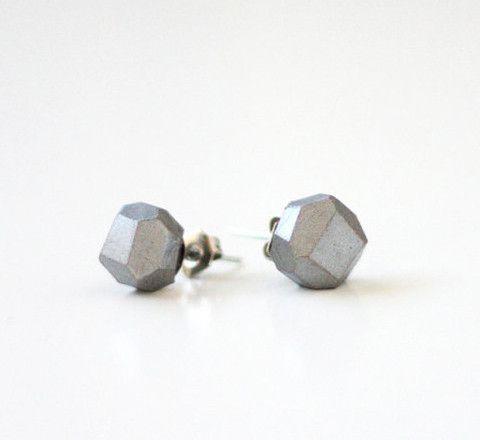 The Minimalist - The Minimalist Store / Dark Silver geometric earrings