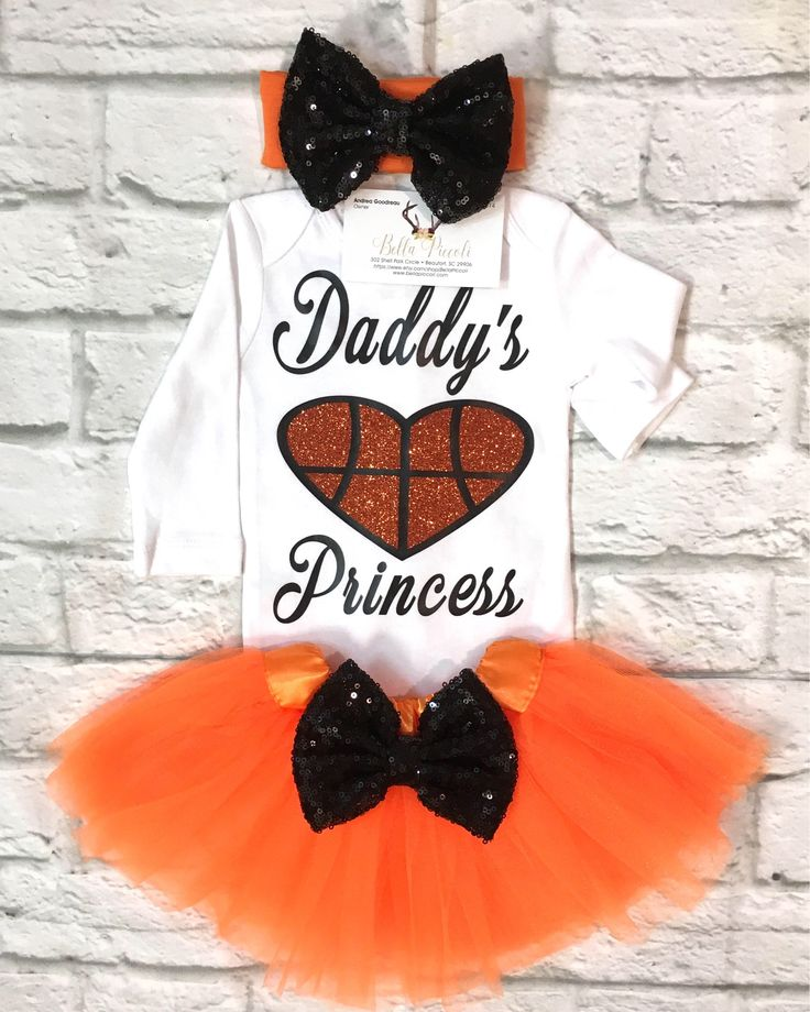 A personal favorite from my Etsy shop https://www.etsy.com/listing/574087845/daddys-princess-basketball-bodysuit
