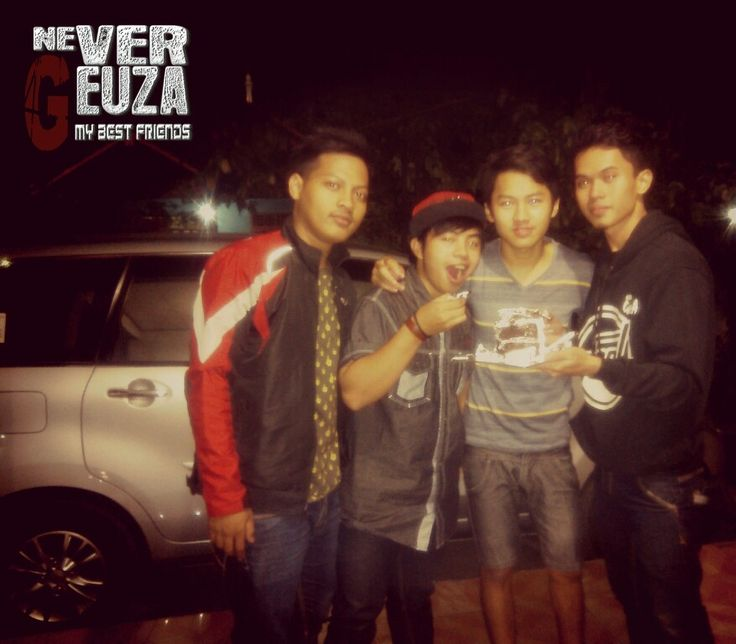 4 sahabat pendiri NEVER GEUZA