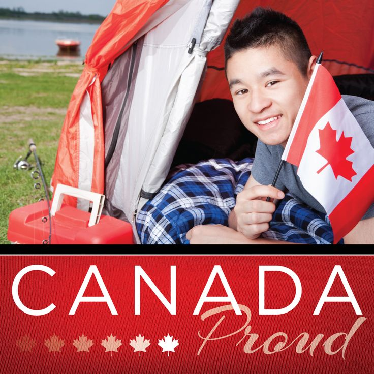#canadaproud #canadianflag #camping