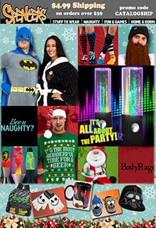 Spencers online and Spencer gift catalog