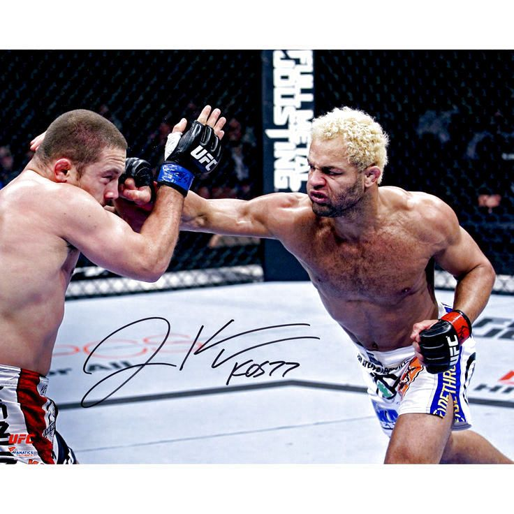 """Josh Koscheck Ultimate Fighting Championship Fanatics Authentic Autographed 16"""" x 20"""" Throwing Punch Photograph - $39.99"""