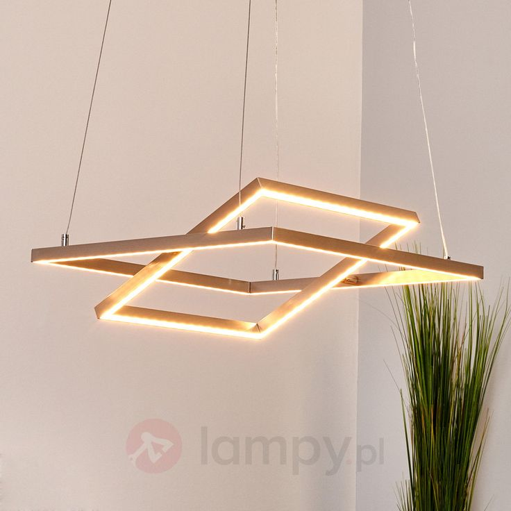 Prostokątna lampa wisząca LED TORNA, regulowana bezpieczne & wygodne zakupy w sklepie internetowym Lampy.pl.