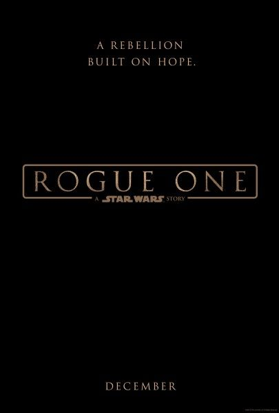 Rogue One A Star Wars Story · Official Poster