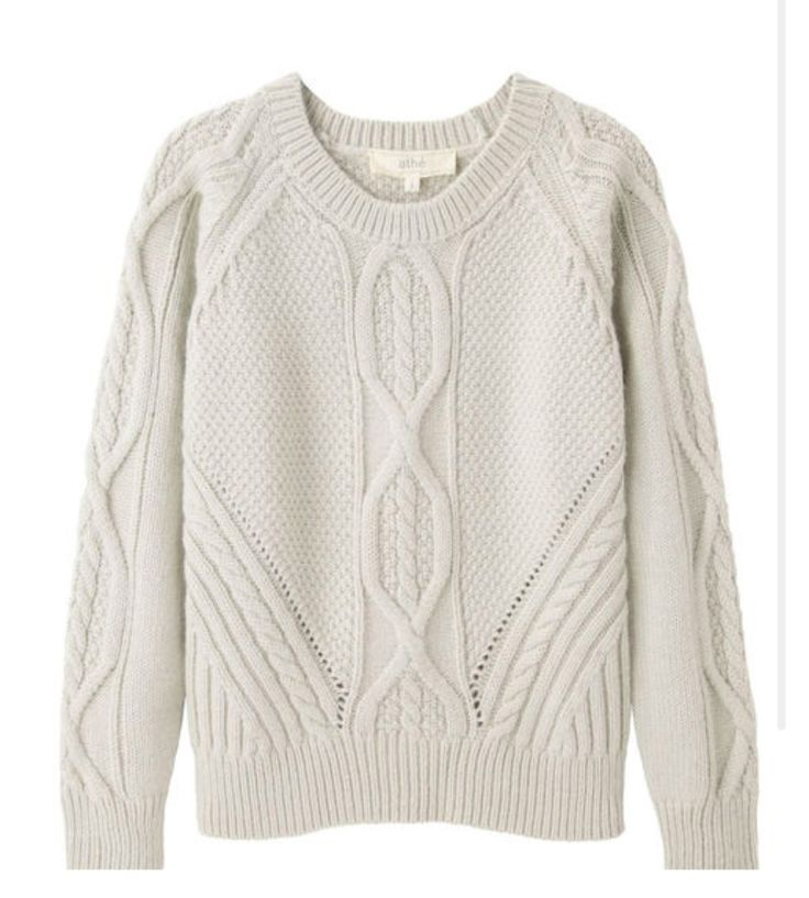 Cable Knit #Pullover from #VanessaBruno | PS Dept.