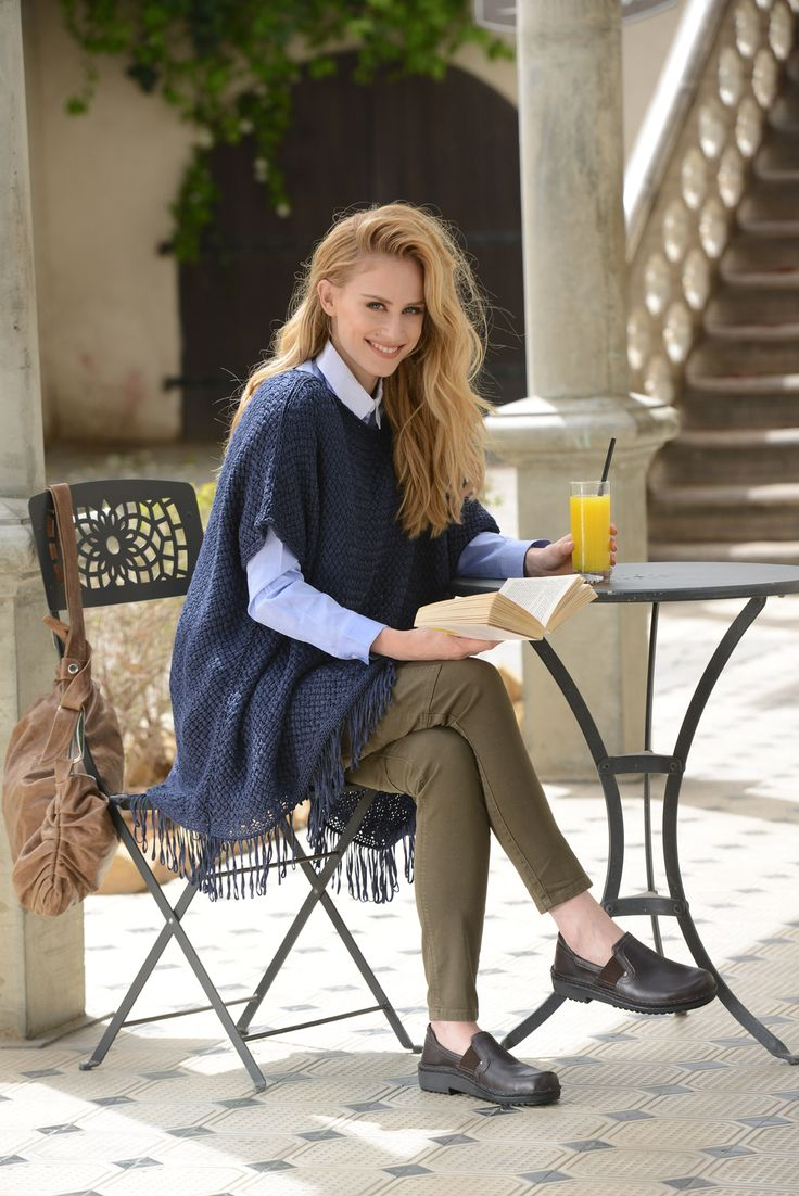 NAOT - MALMO Buffalo (Lifestyle Image) #NAOT #footwear #shoes #slipon #orthoticfriendly #removableinnersole  #fashion #comfort #winter #footwear #lunch #trends